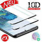 1/2xSamsung Galaxy S20/Plus/Ultra Full Cover 10D Tempered Glass Screen Protector