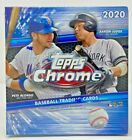 Topps Chrome 2020 Baseball Sealed MEGA Blaster Hanger Box & Value Cello Packs