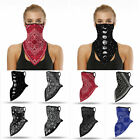 Unisex Outdoor Sport Bandana Triangle Scarf Neck Tube Ear Hanging Face Cover