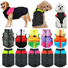 Cute Pet Dog Vest Jacket Warm Small/Large Clothes Winter Padded Outwear Coats US