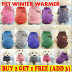 Pet Dog Fleece Coat Clothes Puppy Warm Cat Jacket Vest Apparel Chihuahua Sweater
