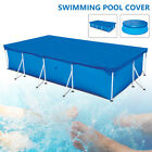 Round Rectangular Swimming Paddling Pool Cover Inflatable Easy Fast Set Rope