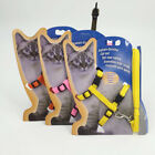 Pet Cat Leash & Harness Set Walking Small Puppy Dog Kitten Adjustable Lead Strap