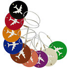 Fashion Suitcase Luggage Tag Out Round Id Address Holder Identifier Label