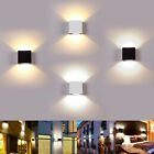 LED Wall Lamp Modern Up Down Sconce Lighting Fixture Cube Light Indoor Decor 6W