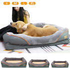 X Large Orthopaedic Dog Bed/Mattress House Soft Sofa Pet Cat Cushion Chair Relax