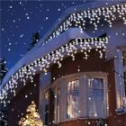 Drop LED Icicle String Light Curtain Indoor Garland Decoration Outdoor Design