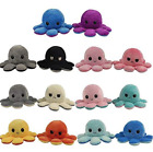 cute octopus plush toys double sided flip octopus doll reversible brand new