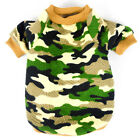 New Camouflage Small Dog Clothes Pet Puppy Vest Dog Cat Apparel 2 Colors XS-XL