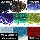 Matsuno Seed Beads 8/0 - 40 Grams - Choose Your Color