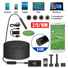 8led wifi endoscope borescope snake inspection camera ip68 for iphone android pc