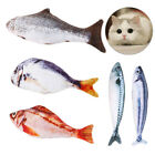3Pcs Cat Toys Fish Realistic Plush Toy Simulation Catnip Gift Pet Chewing S5