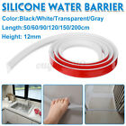 Long Bathroom/Kitchen Shower Water Barrier Threshold Dam Retention Floor Stopper