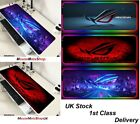 ASUS Extra Large Gaming Mouse Mat Pad Non-Slip f/ PC Laptop Desk...