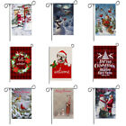 Snowman Welcome Christmas Snowflake Winter Double Sided Garden Flag Home Decor