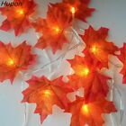 Christmas Lights Maple Leaves Garland Led Fairy Lights for Decoration Halloween