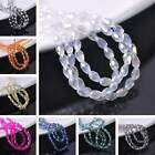 Wholesale 50pcs 4X6mm Faceted Teardrop Crystal Glass Loose Spacer Beads Craft