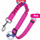Anti Shock Pet Dog Car Seat Belt Clip Bungee Lead Vehicle Travel Safety Harness <br/> ✅Top UK Seller✅Top Feedback✅Protect Your Loved Pet✅