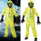 Halloween Kids Boys Girls Breaking Bad Yellow Hazmat Suit Cosplay Fancy Dress