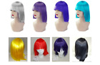 Cos Play Coloured Synthetic Great Quality Fringed Shoulder Length Fringe Wig