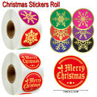 Gifts Decoration Merry Christmas Christmas Stickers Seal Sticker Adhesive Label