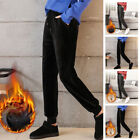 Women's Winter Warm Thermal Thick Fleece Lined Pants Long Trousers Sweatpants