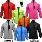 Ladies Cycling Jacket High Visibility Waterproof Running Top Rain Coat XS to XL