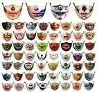 Halloween Mask Face Mouth & Nose Protection - Scary Teeth Face Mask - Novelty