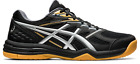 Asics Upcourt 4 Men's Indoor Court Shoe Black/Silver Auth Dealer w/ Warranty