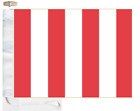 Sewn NATO Signal Flag Port Pennant - Made In The UK