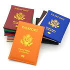 Travel PU Leather USA Passport Cover Card Holder American Covers Girls Pouch NEW