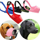 Dog Safety Muzzle Pet Accessories Puppy Mouth Control Head Collar Halter