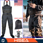 HISEA Fly Fishing Chest Wader Deluxe Breathable Lightweight Stockingfoot Waders