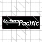 """Southern Pacific Railroad """"speed Logo"""" Embroidered Cap Hat #40-0076 W/decal O..."""