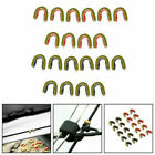 Archery String Nocking Points Brass Nock Buckle Clips Bow String Protect US
