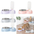 Automatic Pet Dog Cat Food Water Dispenser Dish Bowl Feeder Drinking Pet Supply