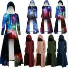 Womens Vintage Halloween Cloak Gothic Steampunk Hooded Cape Party Coat Costume