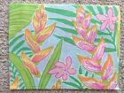 """Lilly Pulitzer 6"""" x 8"""" AUTHENTIC Fabric Pieces - New! Quilts, Masks, Projects"""