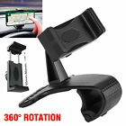 360° Universal Car Mount Holder Dashboard Stand Cradle w/Clip for Cell Phone GPS
