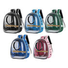 Bird Pet Parrot Backpack Carrier ravel Space Capsule Transparent Travel Handbag