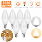 E12 60W LED Candle Light Base Flame Bulb Replacement Equivalent Candelabra Set