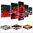 5PC Unframed Modern Flower Art Oil Canvas Painting Picture Print Home Wall Decor