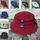 Polo Teddy Bear Bucket Hat RL Embroidery Outdoor Leisure Man Women