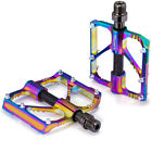 Mountain Bike Pedals MTB colorful 3 Bearings Carbon Shaft Tube Pedal