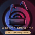 QCY T5 TWS bluetooth 5.1 Earbuds Gaming HiFi Touch Control ENC Sports Earphones