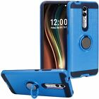 For Coolpad Legacy Brisa - Hybrid Armor Kickstand Magnetic Ring Hard Case Cover