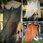 Halloween Scary Ghost Haunted Hanging Skull Witch Curtain Party Outdoor