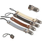 Baby Gifts Leather Teether Strap Soother Chain Pacifier Clips Nipple Holder