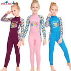 Kids Full Body Jumpsuit Swimwear UPF50 One Piece Swimwear Long Surf Dive Skin