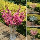12 Head Artificial Winter Jasmine Plastic Branch With Flowers Home Decor Gift